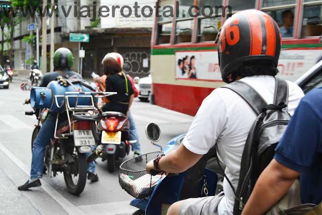 Tailandia Bangkok Motos