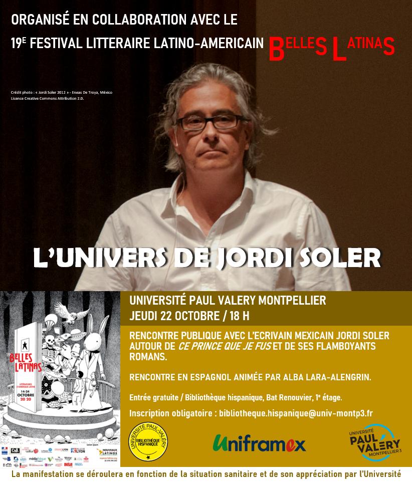 Rencontre avec Jordi Soler