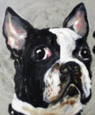 dog painting