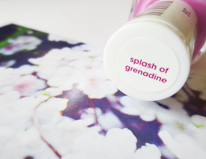 essie splash of grenadine pink nail polish