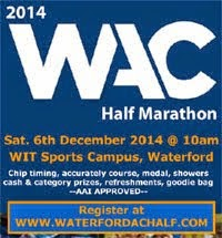 Waterford Half-Marathon...Sat 6th Dec