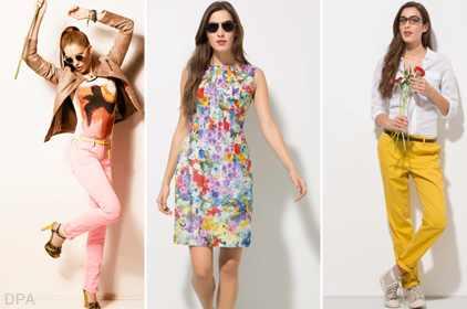 أزياء 2013 - موضة أزياء صيف 2013 مشعة بالأنوثة