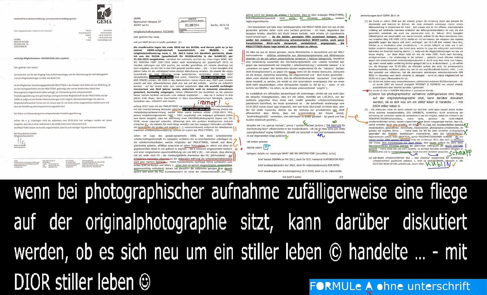 merkel administration deutsche zensur gegen mischa vetere seit 2009, ostdeutsCHe untermieter