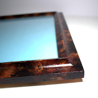 diy photo frame tortoise shell