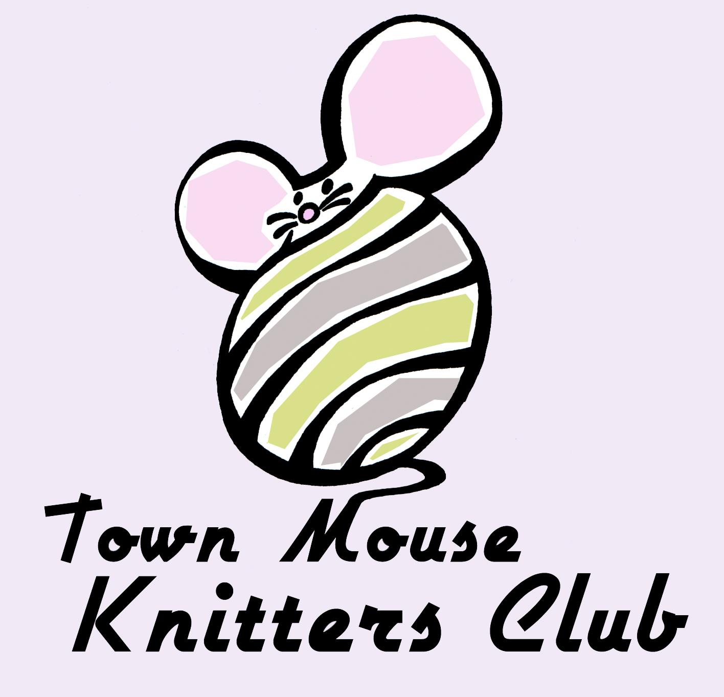 Knitting Club Logo : Islandboy illustration edinburgh knitting club logo