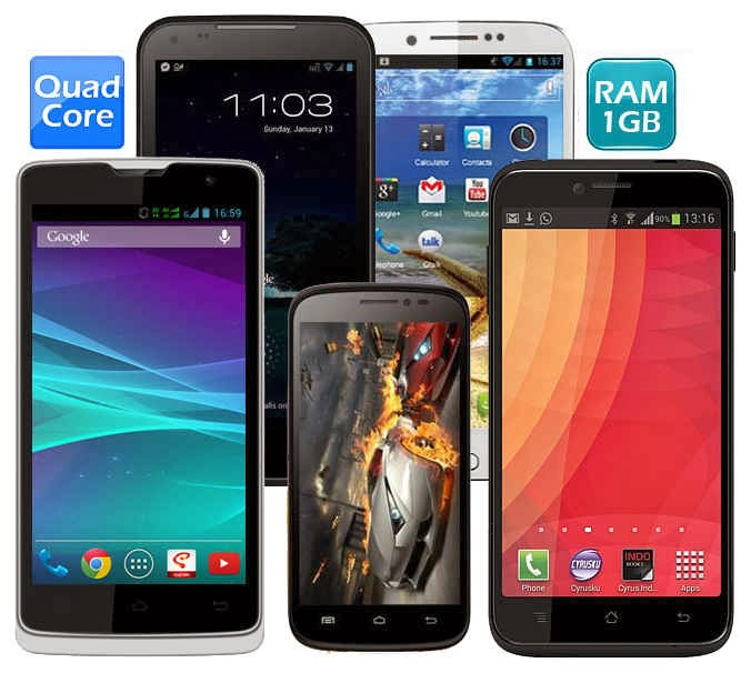 HP Android Quad Core Murah