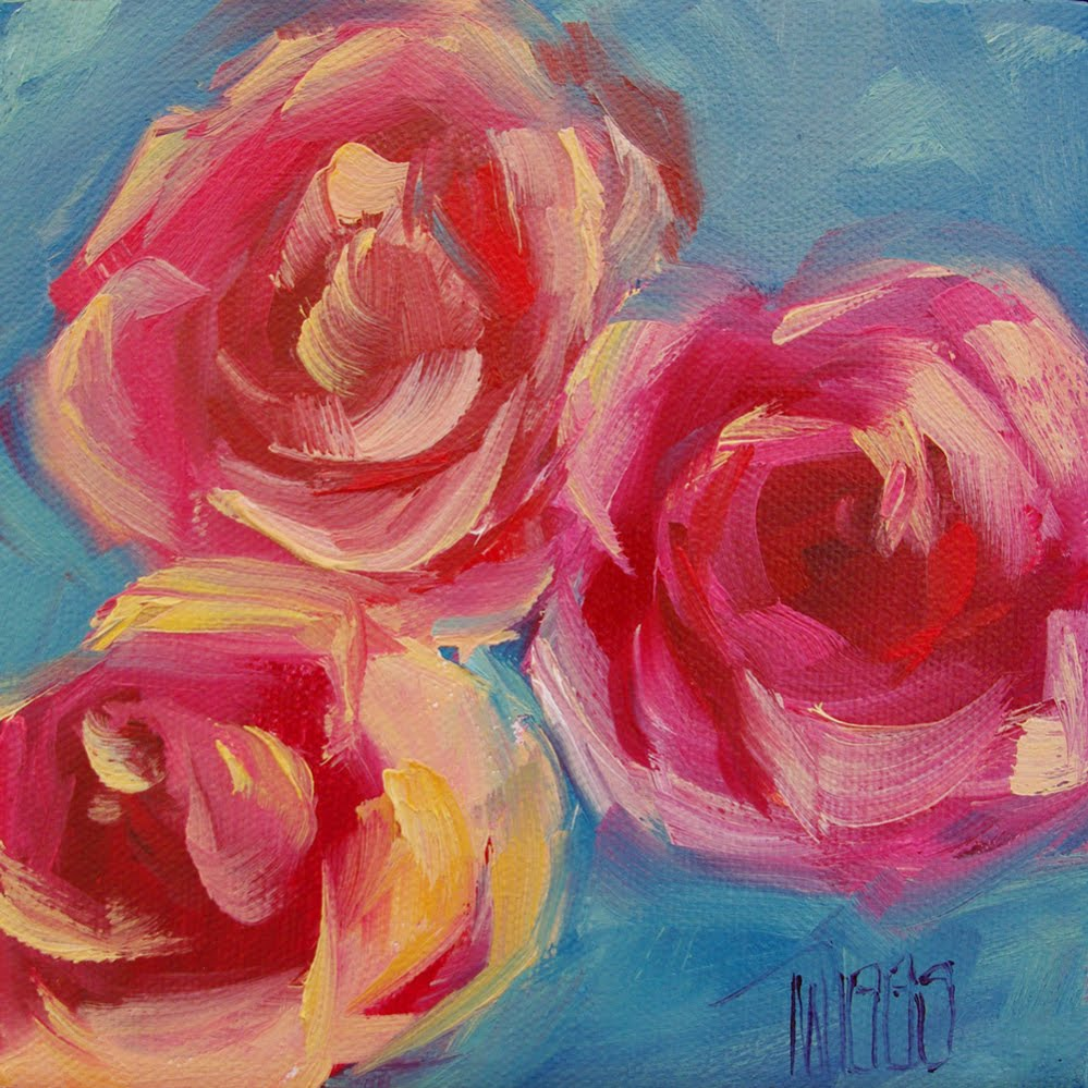 Oil Paintings Of Roses