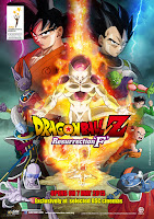 Dragon Ball Z Resurrection F 2015 poster malaysia