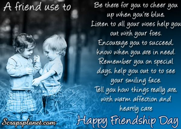 Friendship Day Quotes For Friends. QuotesGram
