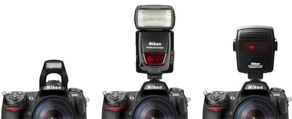 Különféle Nikon vaku vezérlések