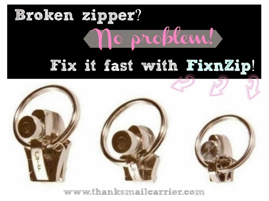 FixnZip broken zipper