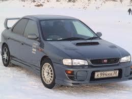 Subaru Impreza. Subaru SVX punto es