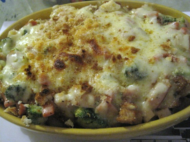 Happy Cup: Quick and Easy Baked Macaroni and Cheese
