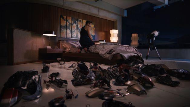 Jedi Mouseketeer Tony Stark 39 S Iron Man 39 S3 Bedroom Lamp