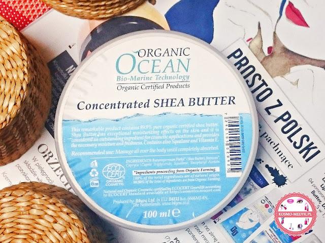 Organic Ocean, skoncentrowane masło shea.