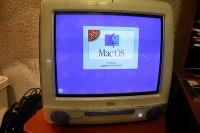 iMac G3 вид спереди