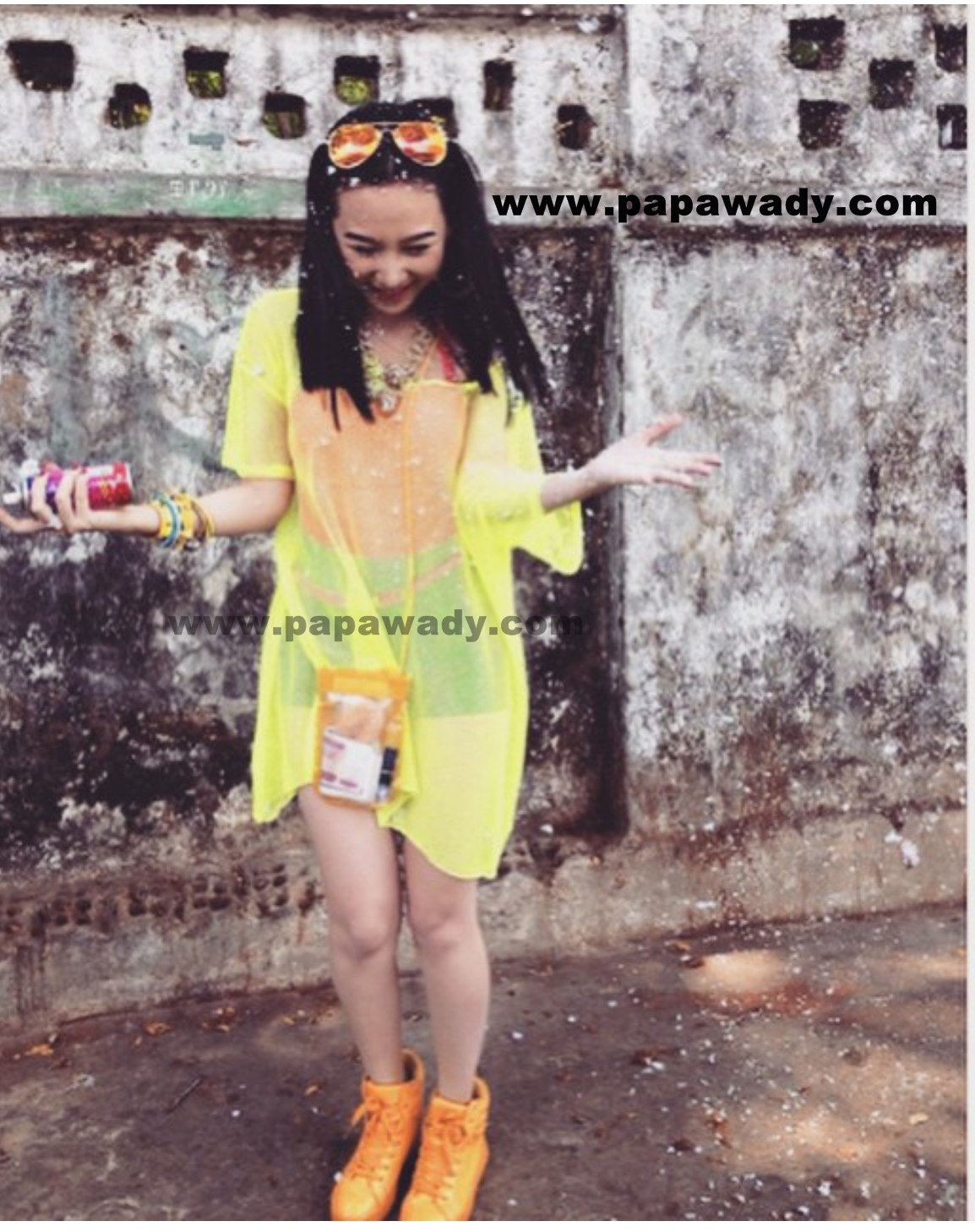 Thinzar Nwe Win - Thingyan Day Fashion