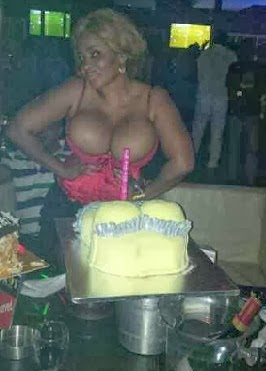 Exclusive Photos from Cossy' s Birthday  + She Gives Out Her Phone Number .