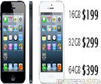 Harga iPhone 5 di Indonesia 16 - 32 - 64GB Beredar ?