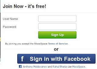 mocospace login to chat