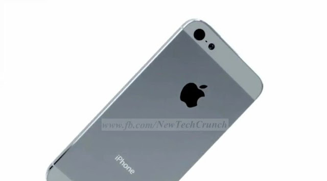 iPhone 5 silver gray color