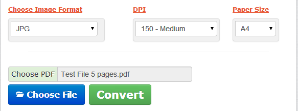 change pdf in jpg online free