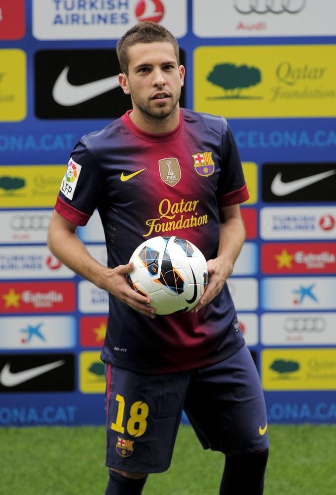 ... .com: Spanish Footballer Jordi Alba Profile : Jordi Alba Career