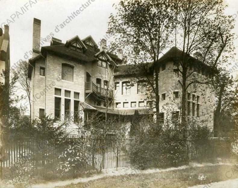 E gide villa montmorency for Andre maurois la maison
