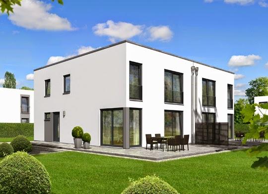 Doppelhaus architektenh user for Doppelhaus modern