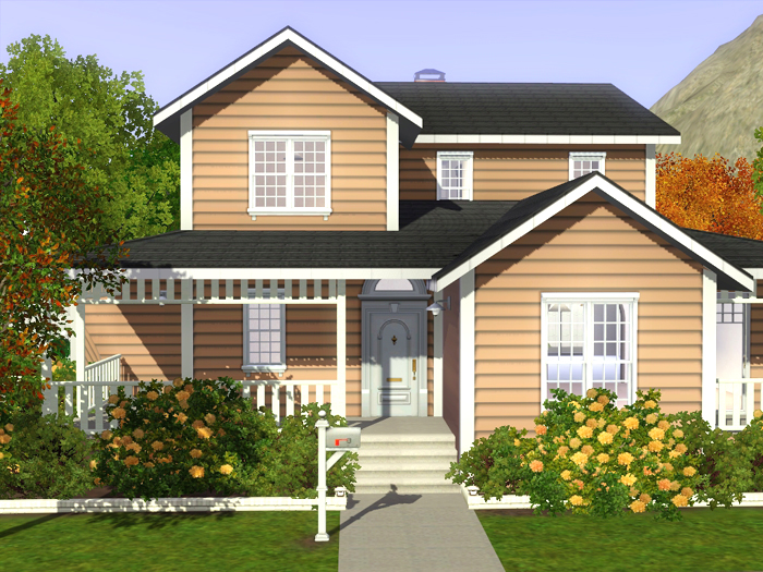 sims 3 family house blueprints. Family House 01 by Noel My Sims 3 Blog