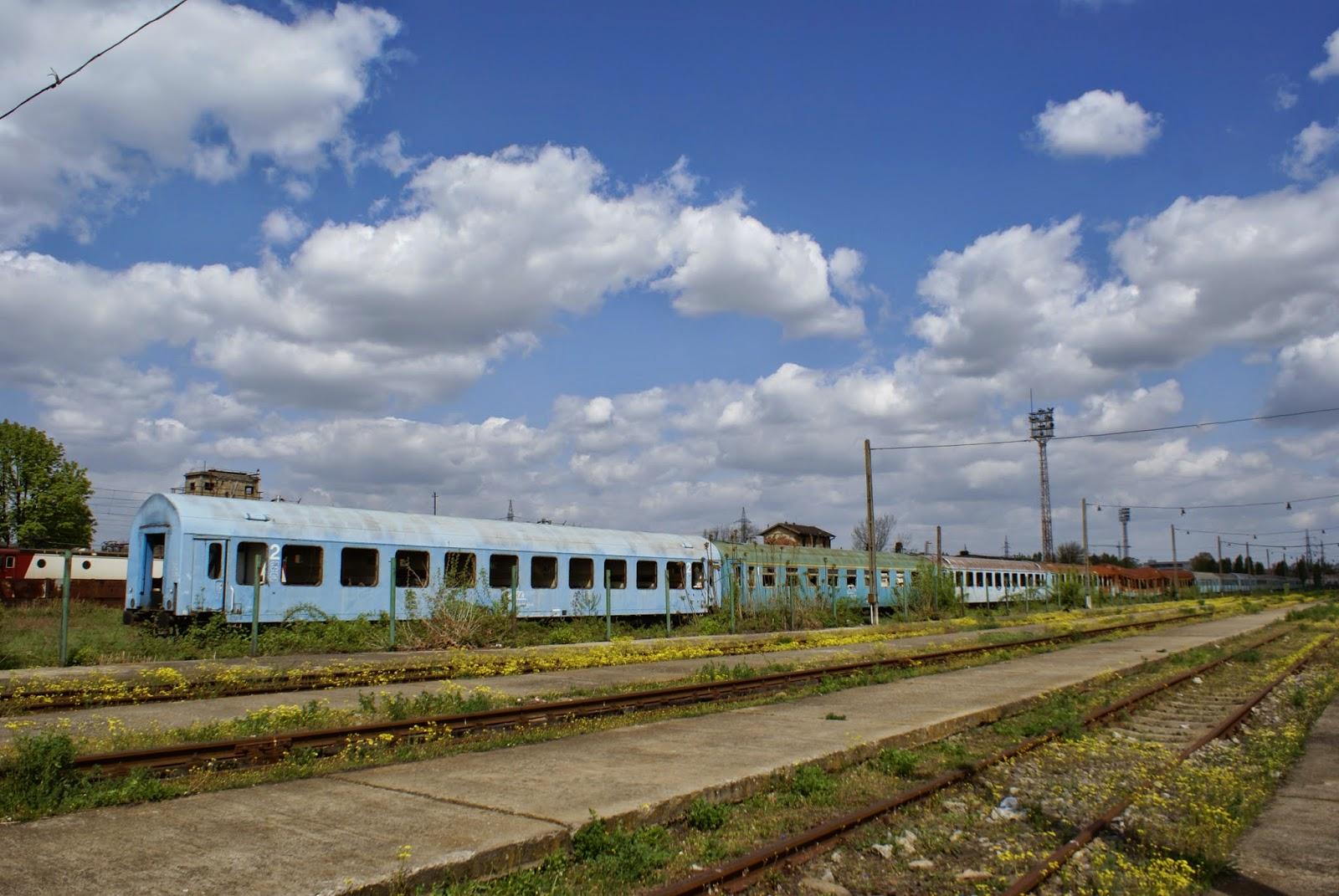 Trenurile parasite din Gara de Nord din Timisoara