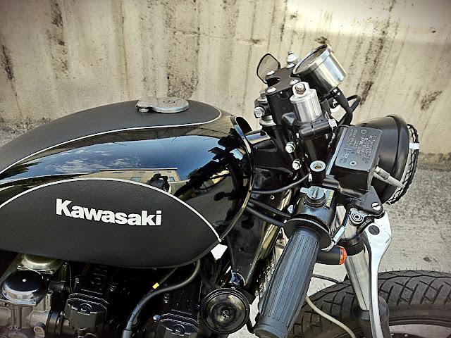 HardSun Motorcycles  Kawasaki K750 Cafe Racer