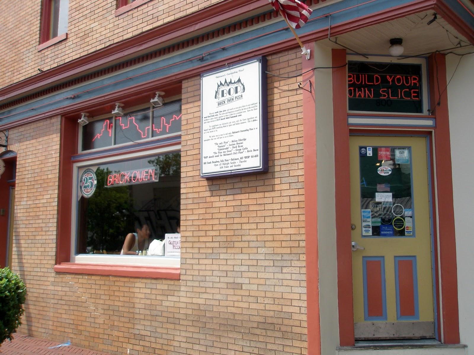 pizza quixote review b o p brick oven pizza baltimore md