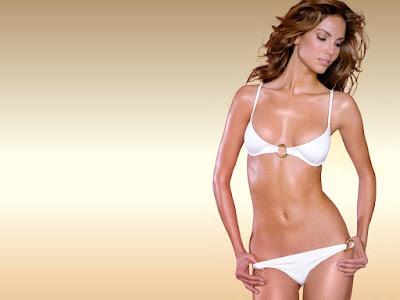 Spanish Model Eugenia Silva Bikini Wallpaper