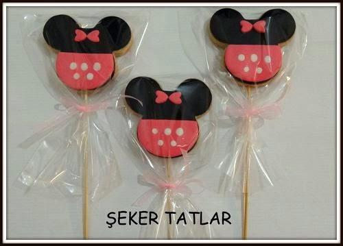 Mini mouse butik kurabiye