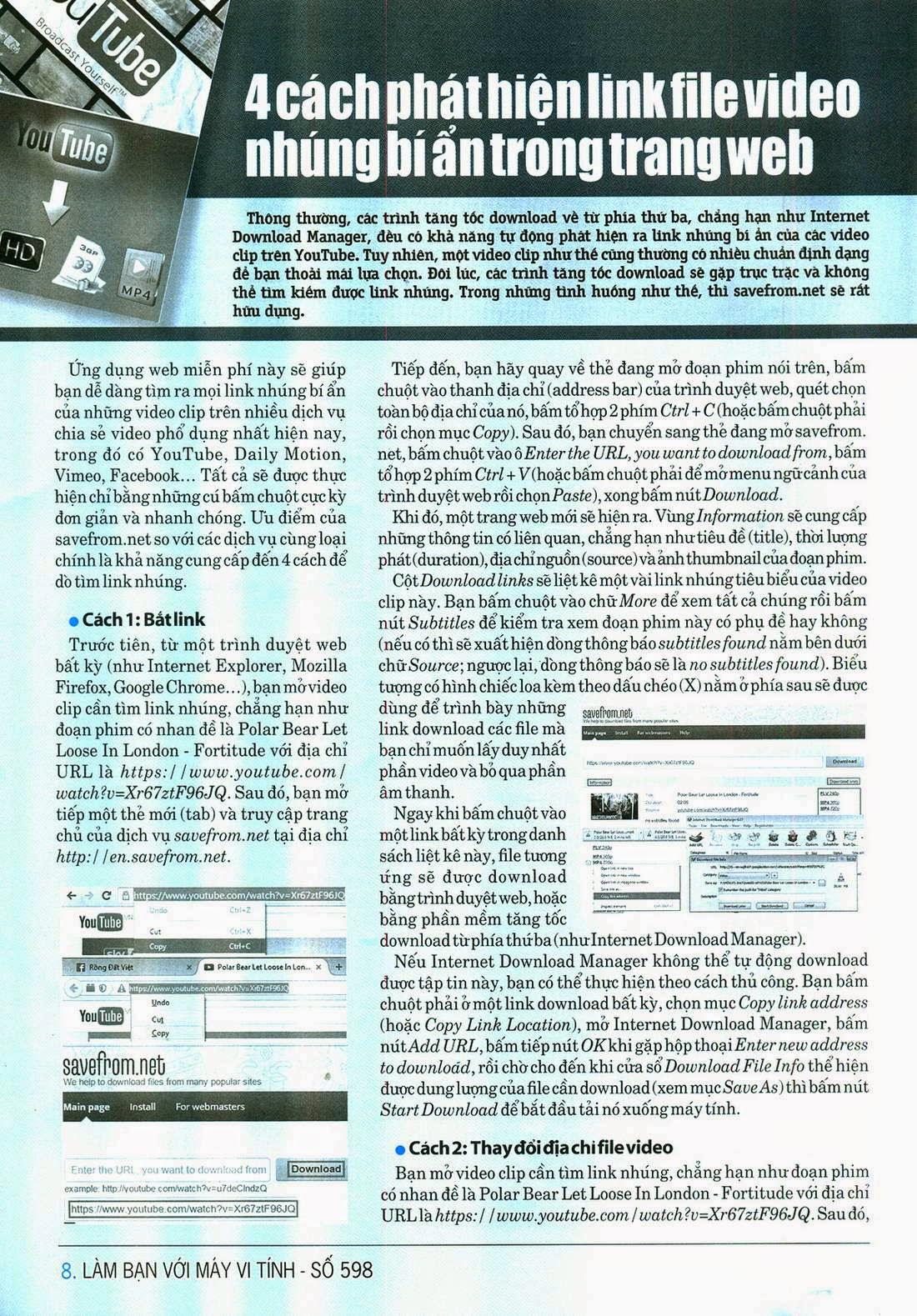 Làm Bạn Với Máy Vi Tính – 598 - tapchicntt.com