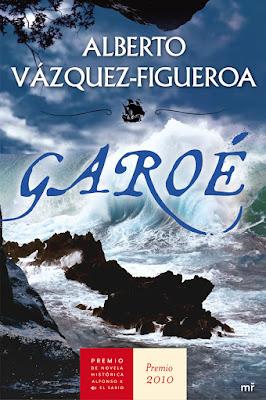 Portada y reseña del libro Garoé, de Alberto Vázquez - Figueroa