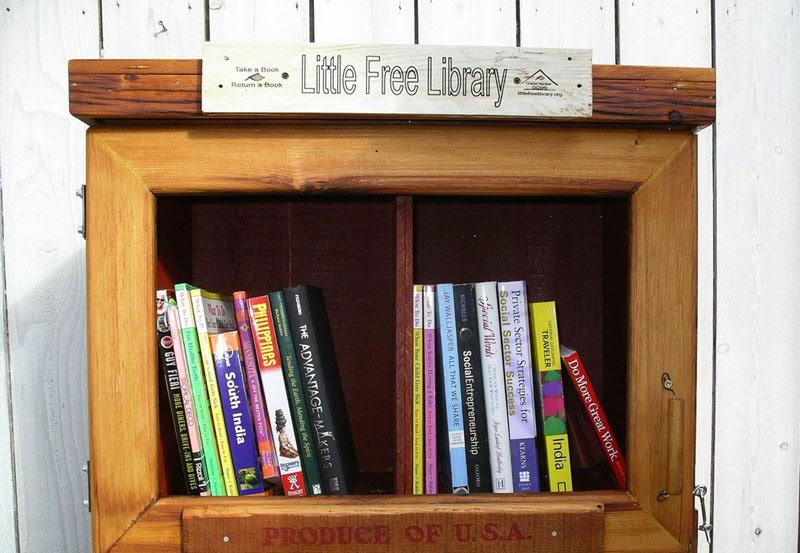 pequeña biblioteca gratuita