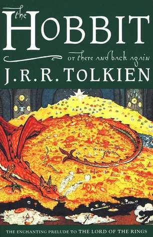 the cover of  The Hobbit by J.R.R. Tolkien