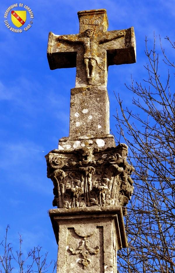 FLAVIGNY-SUR-MOSELLE (54) - Croix monumentale (XVIIIe)