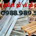 Sử dụng gỗ pallet đóng giá chở hàng bằng xe máy