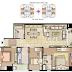 Cho thuê căn hộ Flemington 3PN | 86m2 | giá tốt
