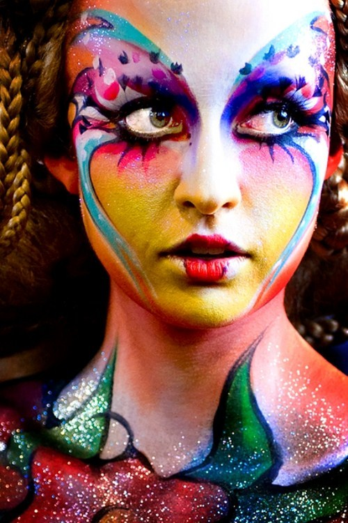 Circus Face Painting Ideas