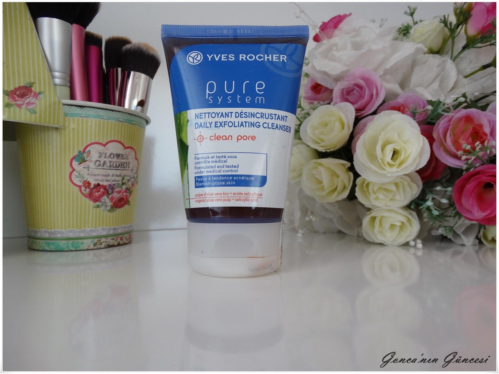 Yves Rocher Pure System Peeling Etkili Yüz Temizleme Jeli