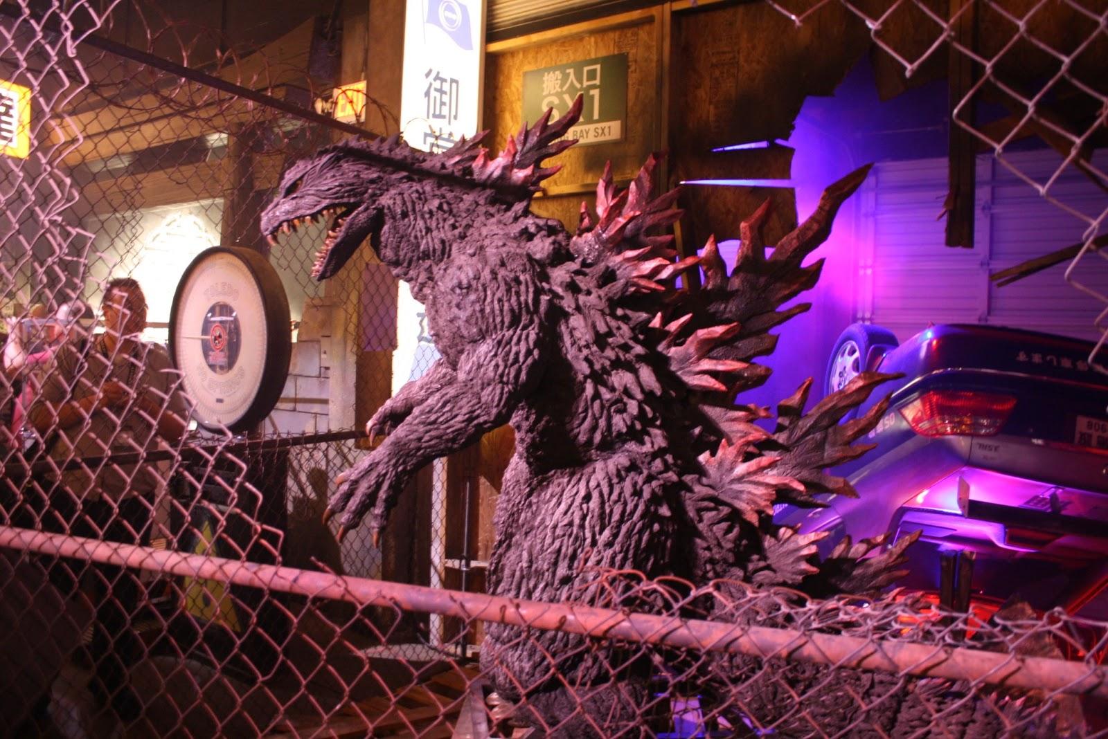 Look on SDCC s Godzilla Encounter BoothGodzilla 2014 Poster Comic Con