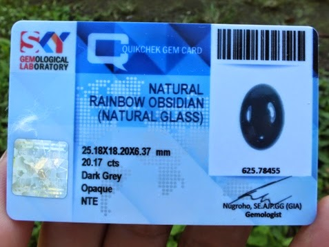 natural rainbow obsidian