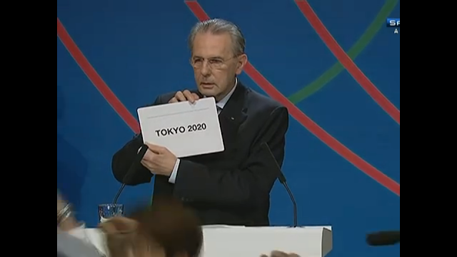Jacques Rogge Tokyo Chosen to held Olympic and Paralympic Games Japan IOC COI warchildPost