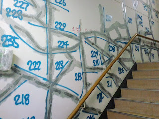 写真:第2病棟の階段