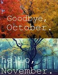 Hello November,Please Be The Most Beautiful Month In This Year.may You  Become One Of The Most Blessed And Happy Months For Us,and May Your Shining  Lights Up ...