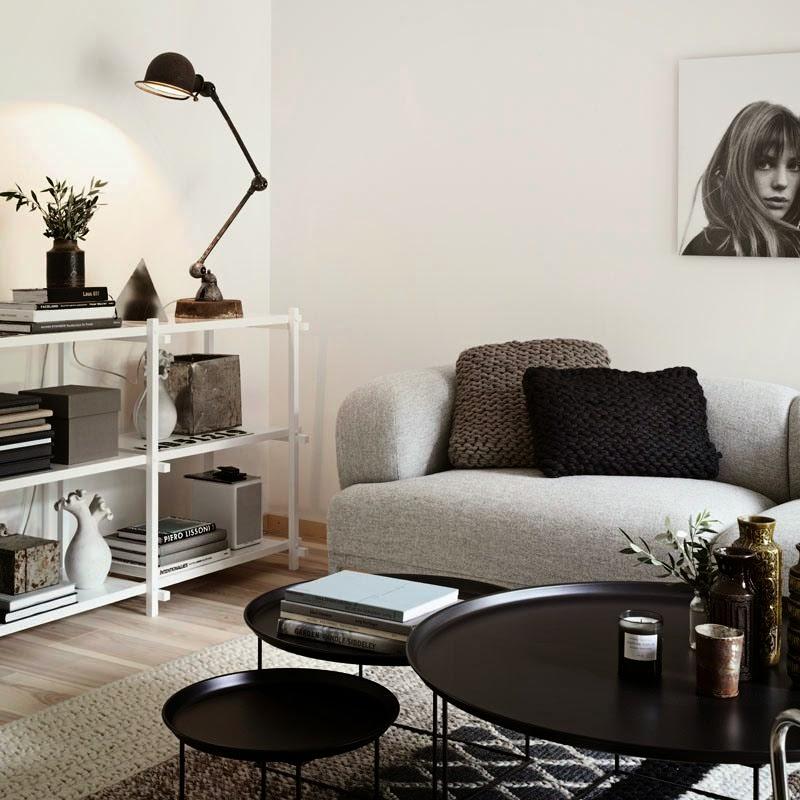 Heteruf Designs: Estilo nórdico en distintos tonos de gris